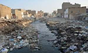 کراچی ترقیاتی کمیٹی کا نالوں پر قائم آبادیوں کو منتقل کرنے کا فیصلہ