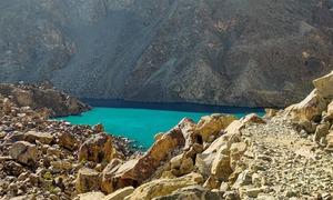 غندوس کی نیلی جھیل: جسے دیکھ کر لگا جیسے وہ صدیوں سے میری منتظر تھی