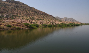 Murad inaugurates small dam, says mega projects to bring about revolution in Tharis' lives