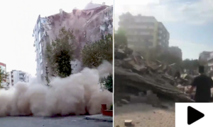 ترکی اور یونان میں زلزلے کے جھٹکے