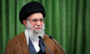 Iran's supreme leader quotes Trump's claims about voter fraud, mocks US election