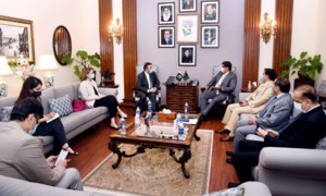 Murad says NED varsity conducting study to revamp city's drainage system