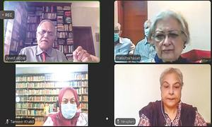 Experts discuss post-Covid world order