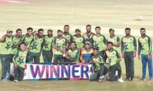 Usman spins Pakistan to T20 series sweep over hapless Zimbabwe