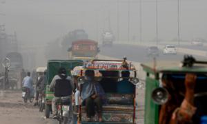 Lahore, Abbottabad see peak pollution as coronavirus surges