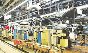 Indus Motor Company shuts plant for three days on parts shortage