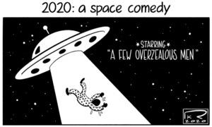 Cartoon: 15 November, 2020
