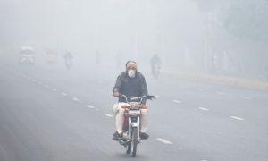 Drastic fall in Lahore smog levels after rain