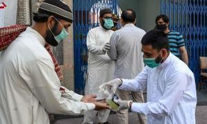 اسلام آباد: کورونا وائرس کے کیسز کی شرح اب تک کی بلند ترین سطح پر پہنچ گئی