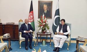 Imran pays his maiden visit to Kabul today