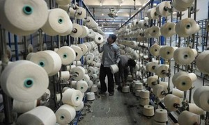 Textile exports rise 6pc in October, LPG imports up