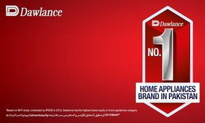 IPSOS ranks Dawlance number one among other home appliance brands in Pakistan