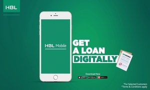 Get an instant loan with HBL PersonalLoan on HBL Mobile. Here's how