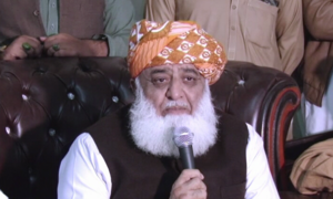 Fazl asks establishment to withdraw government support