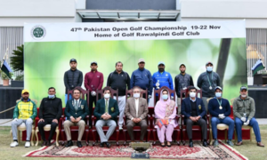 Shabbir bags Pakistan Open Golf title
