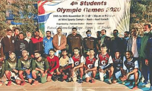 Azizabad win futsal match as Students Games begin