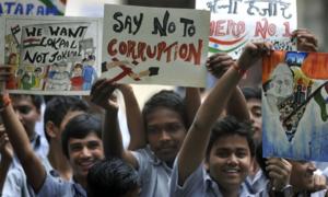 ایشیا میں رشوت ستانی کی سب سے زیادہ شرح بھارت میں ہے، ٹرانسپیرنسی انٹرنیشنل