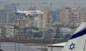 فلائی دبئی کی اسرائیل کے لیے باقاعدہ کمرشل پروازیں شروع