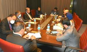 وزیر خارجہ کی افغان ہم منصب سے ملاقات، امن کوششیں بڑھانے پر زور