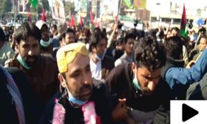 پیپلز پارٹی کے کارکنان نے ملتان میں جلسہ گاہ کے تالے توڑ دیے