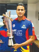 Talented Arshad Iqbal is keen to make his mark for Pakistan soon