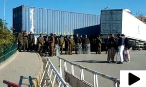 پی ڈی ایم کا ملتان میں جلسہ روکنے کیلئے پولیس کا بھرپور ایکشن