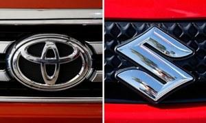 پاک سوزوکی اور انڈس موٹرز کی گاڑیوں کی قیمتوں میں ایک لاکھ روپے تک اضافہ