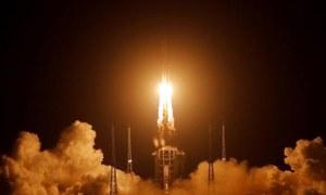 چین کے تاریخی خلائی مشن کی چاند پر کامیاب لینڈنگ