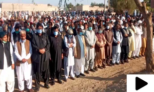 سابق وزیراعظم میرظفراللہ خان جمالی کی نماز جنازہ