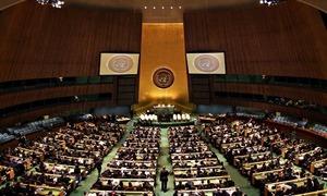 UNGA adopts Pakistan-led resolution on 'promotion of interreligious, intercultural dialogue'