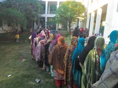 Covid SOPs ignored at centres to get BISP amounts