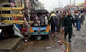راولپنڈی: بس اسٹینڈ کے قریب دھماکا، ایک شخص جاں بحق
