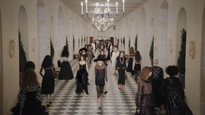 Covid conscious Chanel streams fashion show from Loire chateau