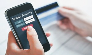 Covid-19 bolsters mobile banking