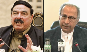 Hafeez made finance minister, Rashid gets interior in yet another cabinet shakeup