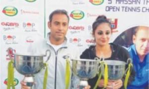 Aqeel, Ushna bag tennis titles