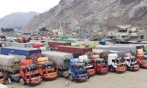 Exports to Afghanistan suspended as clearing agents go on strike
