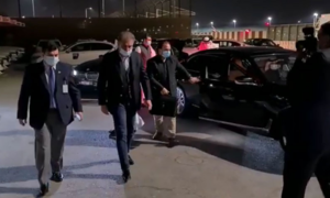 Foreign Minister Qureshi lands in Dubai for two-day visit