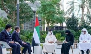 FM discusses welfare of Pakistanis in UAE with Dubai ruler