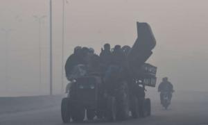 Lahore's air quality touches 'hazardous' level