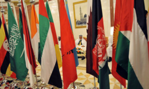 Why has the GCC decided to change course on Palestine and Iran now?