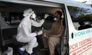 پاکستان میں کووڈ-19 کے مریضوں پر تحقیق کا آغاز
