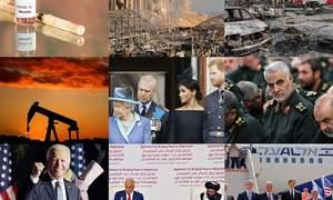 سال 2020 میں عالمی منظر نامے پر رونما ہونے والے اہم واقعات