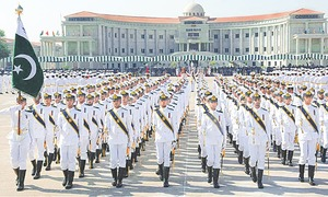 114th midshipmen commissioning parade held