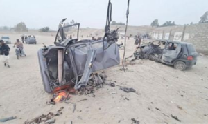Two killed, eight injured in Panjgur blast