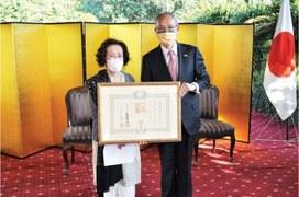 Japanese honour bestowed