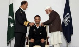 Cricketer Fakhar Zaman made honorary lieutenant by Pakistan Navy