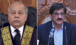 'No roads, no water, no parks': CJP censures Sindh CM for slow progress in removing encroachments