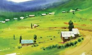 Artists paint northern areas to mitigate Covid trauma