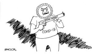 Cartoon: 31 December, 2020